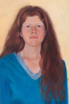 Sarah beck, painted by Brenda Adam